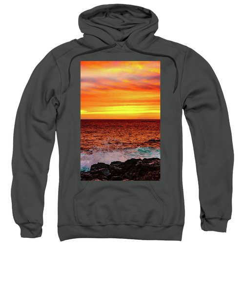 Simple Warm Splash Sweatshirt