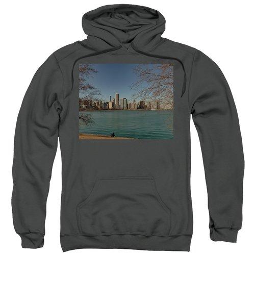 Sitting On A Summer Day Sweatshirt