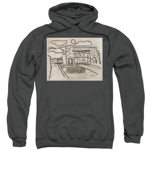 Sketch Of Arch Laguna Del Sol Sweatshirt