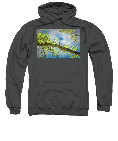 Someone Coming? #i2 Sweatshirt