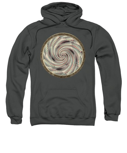 Spinning A Design For Decor And Clothing Sweatshirt