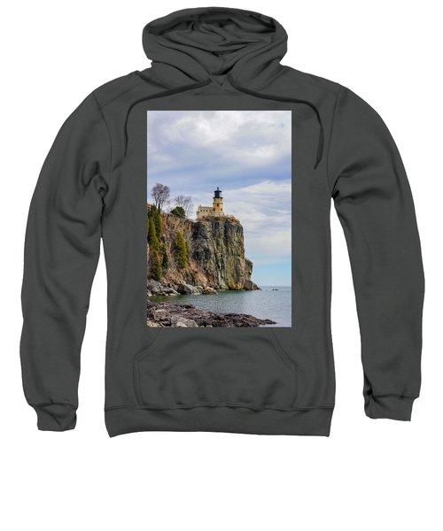 Split Rock Lighthouse Portrait Sweatshirt
