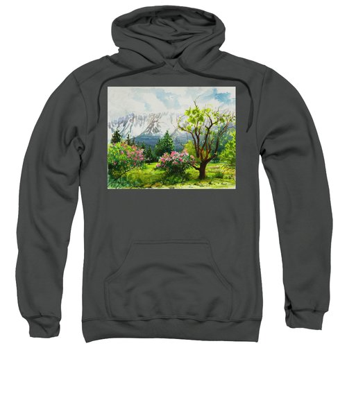 Spring In The Wallowas Sweatshirt