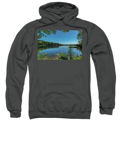 Spring Morning On Grand Sable Lake Sweatshirt