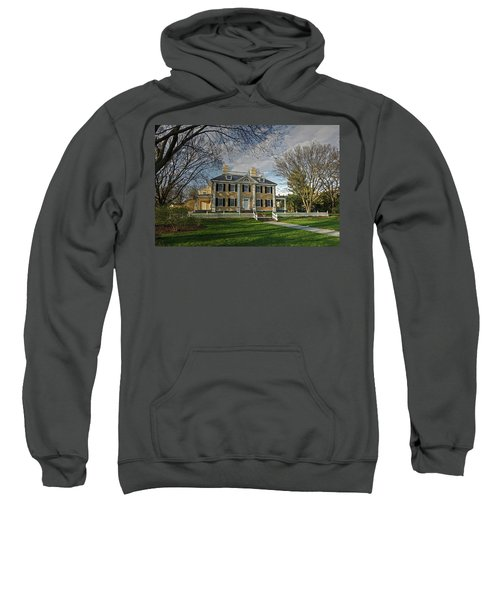 Springtime At Longfellow House Sweatshirt