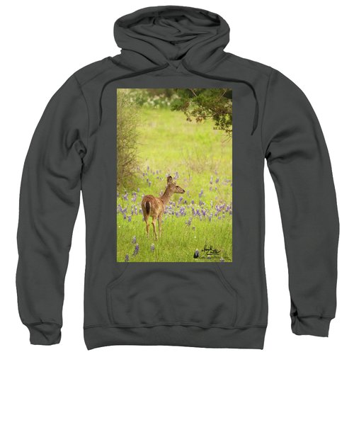 Springtime Whitetail Sweatshirt