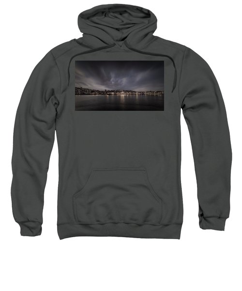 St Ives Cornwall - Dramatic Sky Sweatshirt