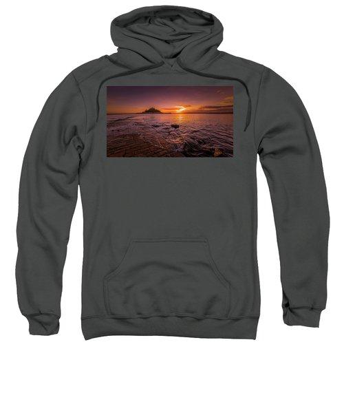 St Michael's Mount - January Sunset Sweatshirt