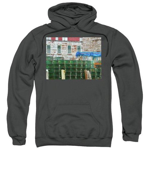 Stacked Lobster Traps Sweatshirt