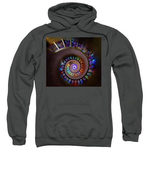 Stained Glass Spiral Sweatshirt