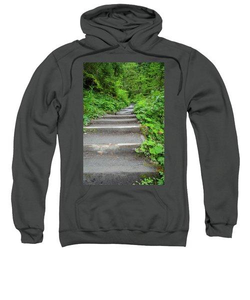 Stairs To The Woods Sweatshirt