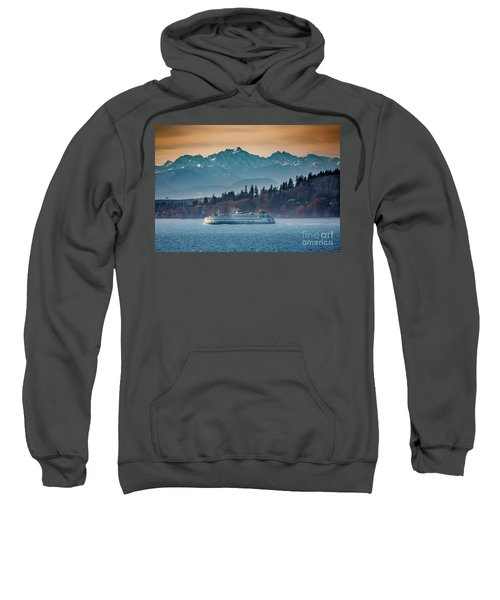 State Ferry And The Olympics Sweatshirt