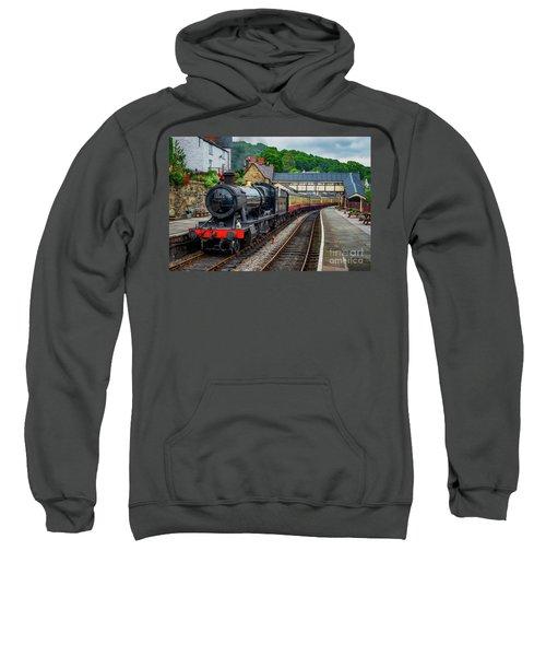 Steam Locomotive Wales Sweatshirt