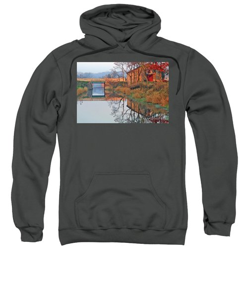 Still Waters On The Canal Sweatshirt
