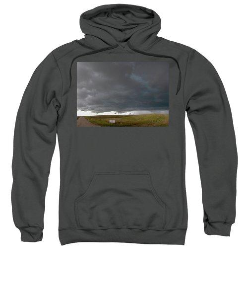 Storm Chasin In Nader Alley 016 Sweatshirt