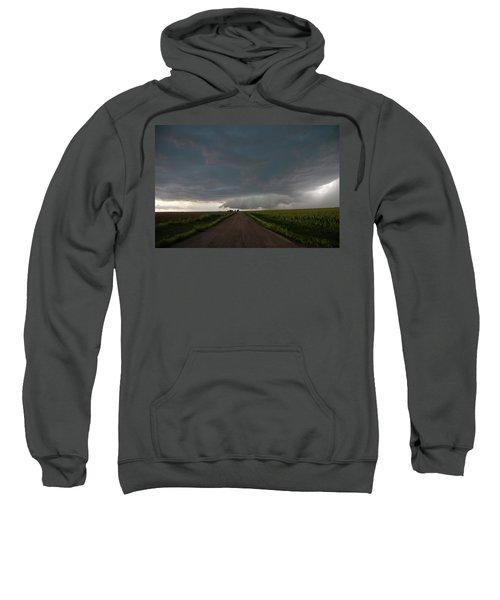Storm Chasin In Nader Alley 025 Sweatshirt