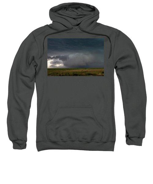 Storm Chasin In Nader Alley 030 Sweatshirt
