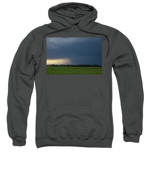 Storm Chasing West South Central Nebraska 002 Sweatshirt