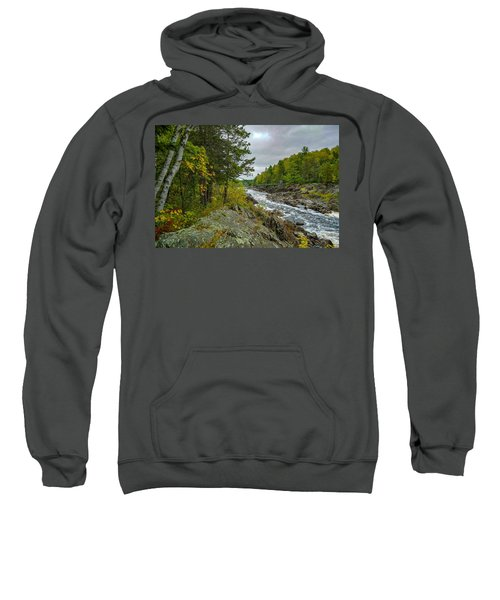 Storm Clouds At Jay Cooke Sweatshirt