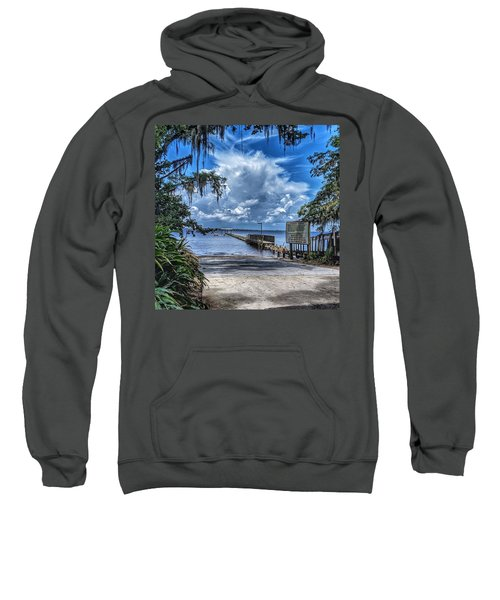 Strolling By The Dock Sweatshirt