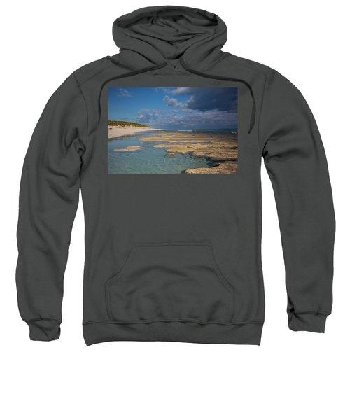 Stromatolites On Stocking Island Sweatshirt