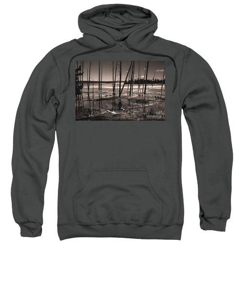 Sweatshirt featuring the photograph Sulfur Field by Mae Wertz