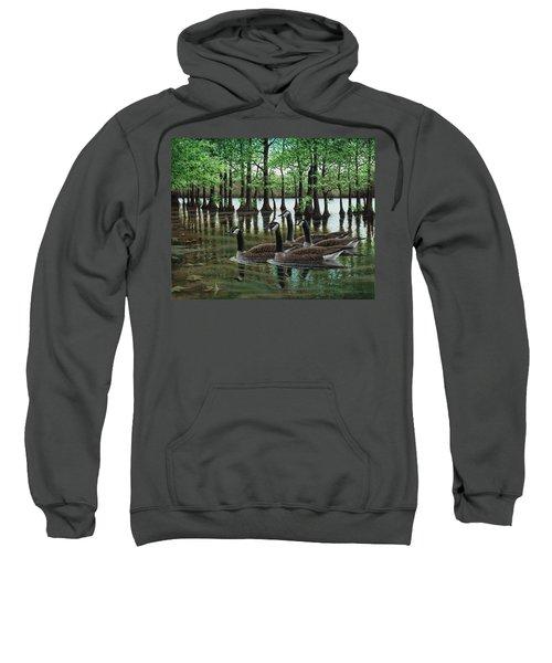 Summer Among The Cypress Sweatshirt