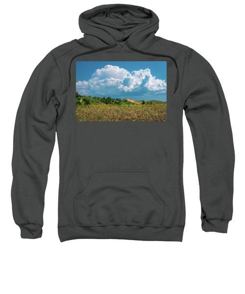 Summer Storm Over The Dunes Sweatshirt