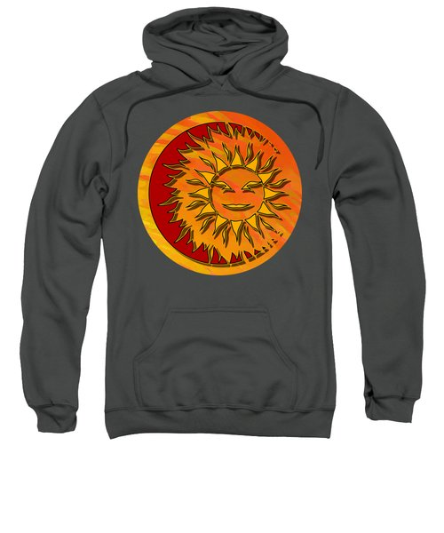 Sun Eclipsing The Moon Sweatshirt
