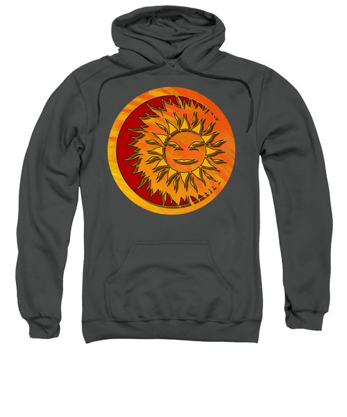 Sun Eclipsing The Moon Sweatshirt