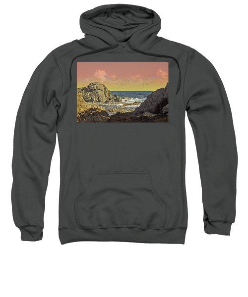 Sundown At Buck Sweatshirt