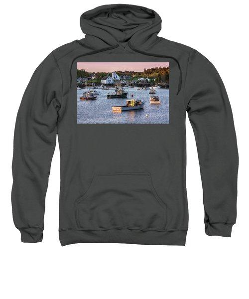 Sundown At Cutler, Maine Sweatshirt