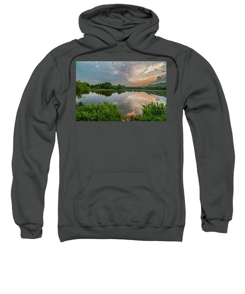Sunrise At Ross Pond Sweatshirt