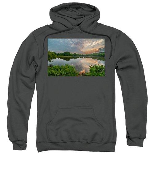 Sunrise At Ross Pond Sweatshirt