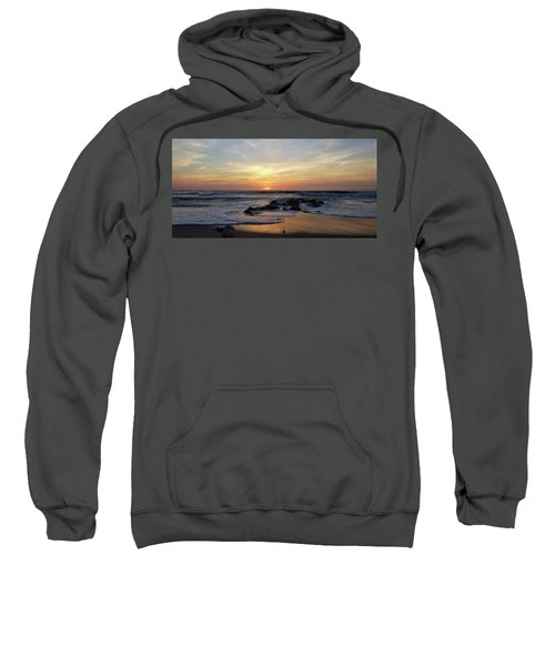 Sunrise At The 15th St Jetty Sweatshirt