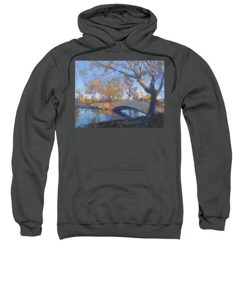 Sunset At Hyde Park  Sweatshirt