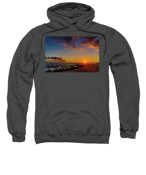 Sunset At Kailua Beach Sweatshirt