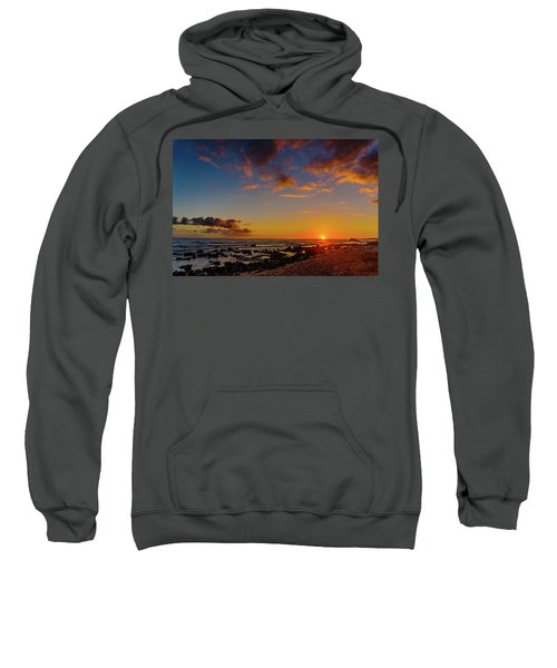Sunset At Kailua Beach Sweatshirt