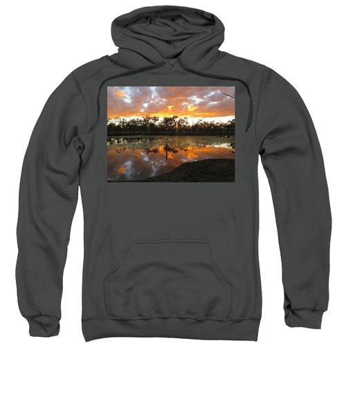 Sunset At Minnamoolka 1 Sweatshirt