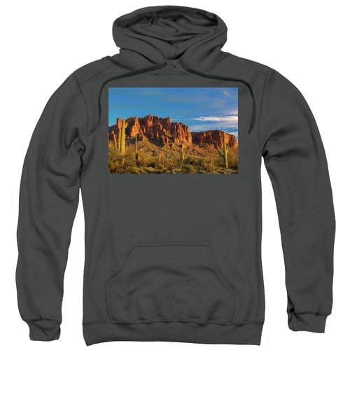 Sunset At Superstition Mountain Sweatshirt