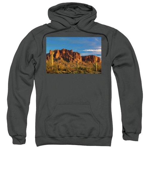 Sunset At Superstition Mountain Sweatshirt