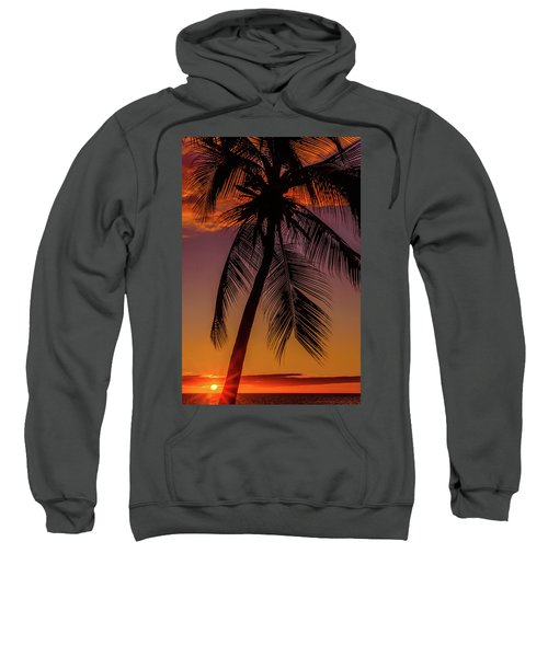 Sunset At The Palm Sweatshirt