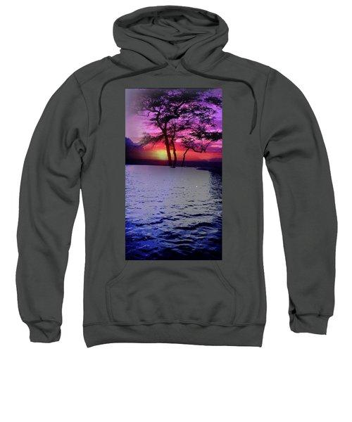 Sunset By Lake. Sweatshirt