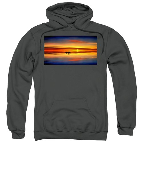Sunset Fishing Sweatshirt