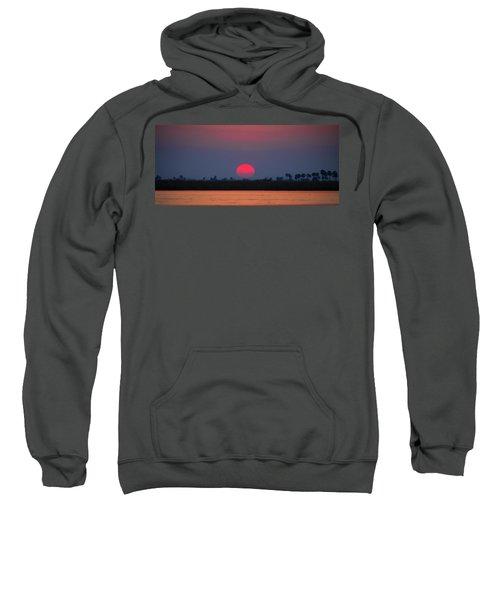 Sunset In Botswana Sweatshirt