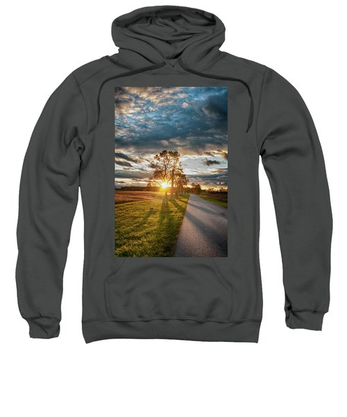 Sunset In The Tree Sweatshirt