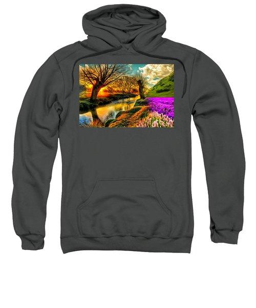Sunset Landscape Sweatshirt