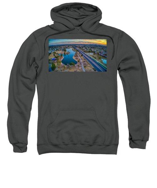 Sunset Over Chaparral  Sweatshirt