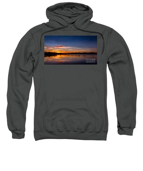 Sunset Over Laupheim Quarry Sweatshirt