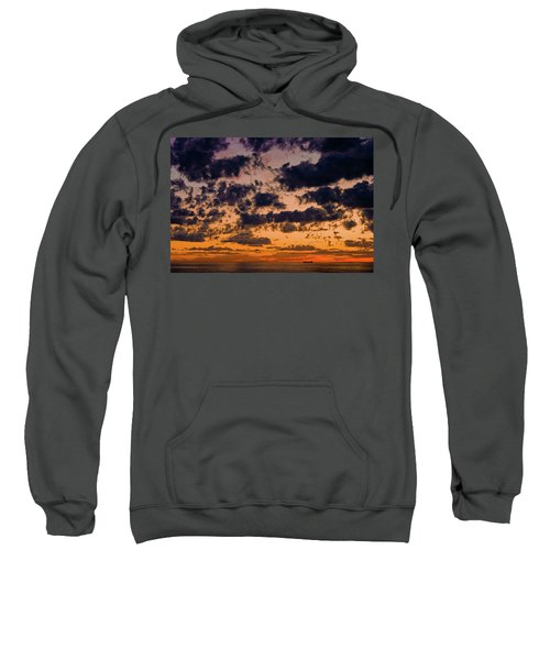 Sunset Over The Indian Ocean Sweatshirt